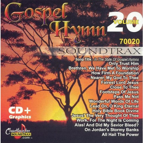 Chartbuster Karaoke: Gospel Collection, Vol. 20