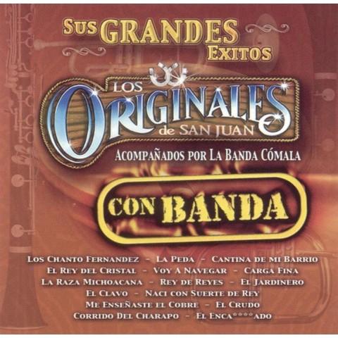 Sus Grandes Exitos: Con Banda