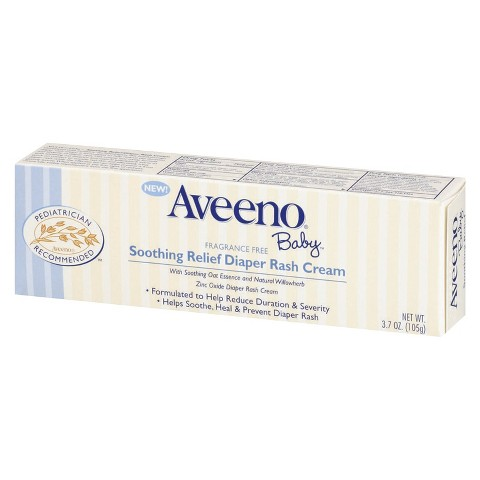 Aveeno Baby Soothing Relief Diaper Rash Cream - 3.7 oz.