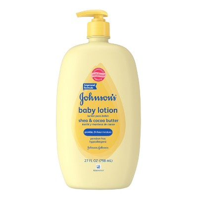 Johnson's Baby Lotion Shea and Cocoa Butter - 27.0 oz.