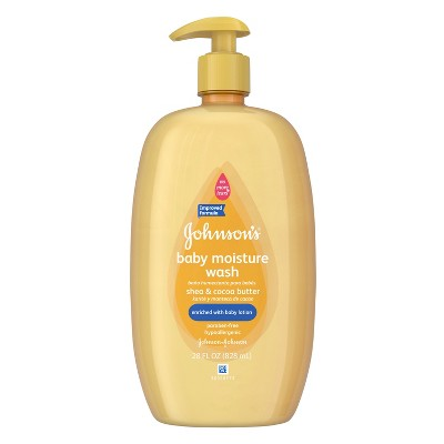 Johnsons Baby Wash, Shea & Cocoa Butter - 28 Oz