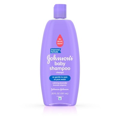 Johnson's Baby Shampoo with Natural Lavender - 20 fl oz
