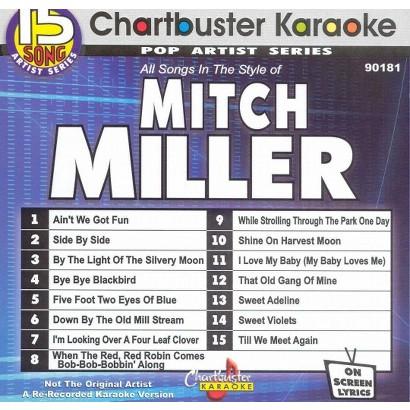 Chartbuster Karaoke: Mitch Miller