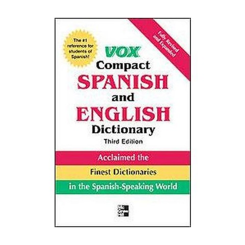 Vox Compact Spanish and English Dictionary (Bilingual) (Paperback)