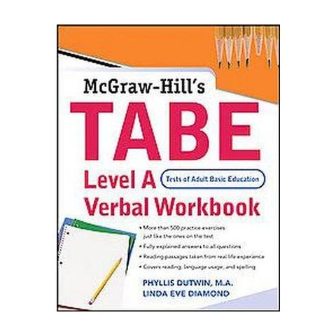 Tabe (Test of Adults Basic Education) (Workbook) (Paperback)