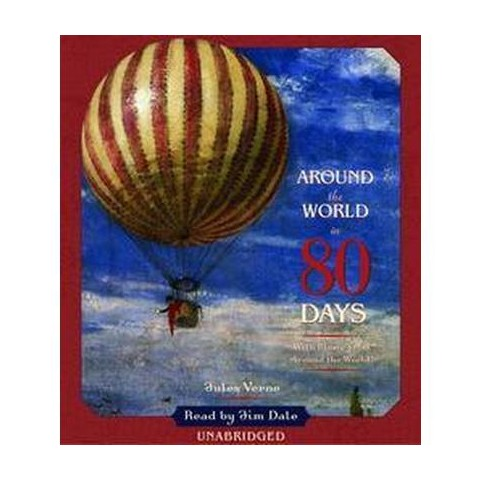 Around the World in 80 Days (Unabridged) (Compact Disc)