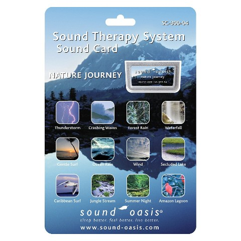 Sound Oasis Nature Journey Sound Card for Sound Machine for Sound Machine (S-650)