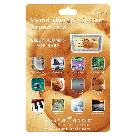 Sound Oasis Baby Sound Card  for Sound Machine for Sound Machine (S-650)