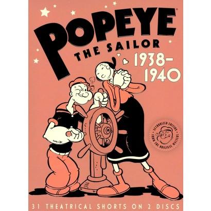 Popeye the Sailor: 1938-1940, Vol. 2 (2 Discs)