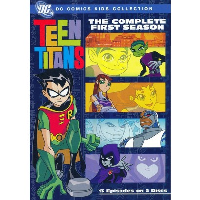 Teen Titans: The Complete First Season (2 Discs)