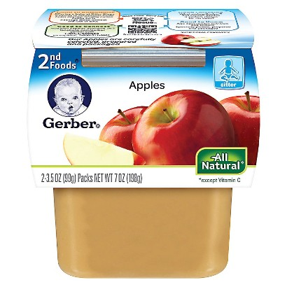 Gerber 2nd Foods Applesauce - 7.0 oz. -(8 Pack)