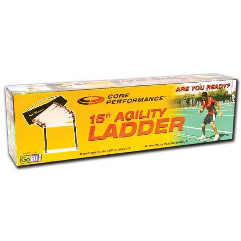 GoFit 15' Agility Ladder with DVD