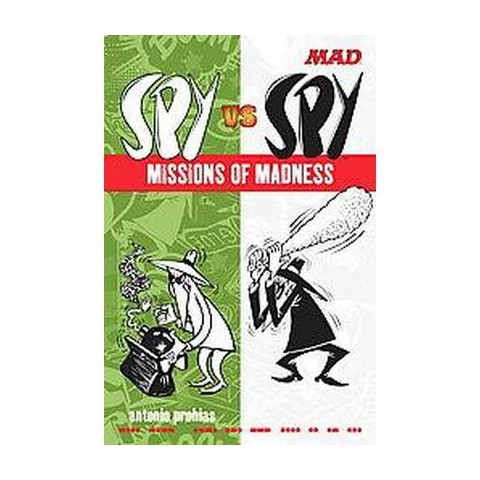 Mad Spy Vs Spy (Paperback)