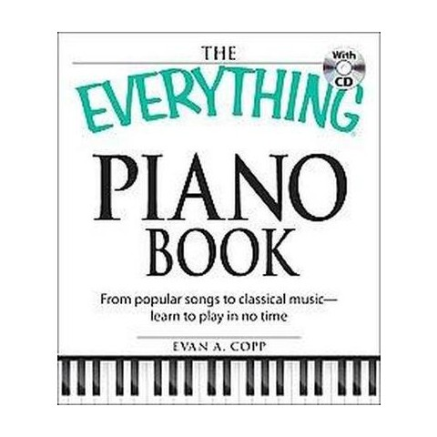 The Everything Piano Book (Original) (Mixed media product)