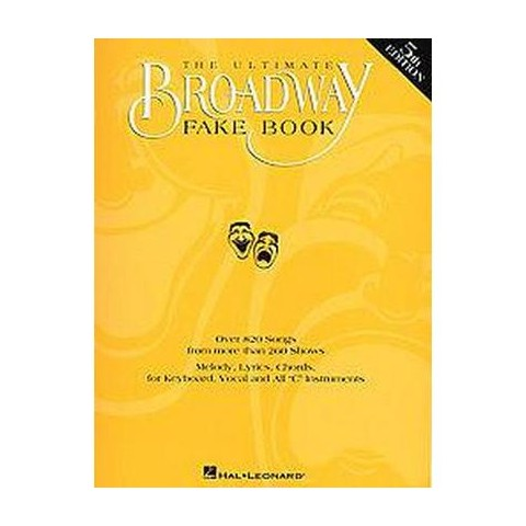 The Ultimate Broadway Fake Book (Revised) (Paperback)