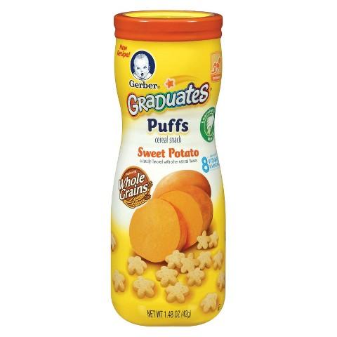 Gerber Graduates Puffs Sweet Potato - 1.48 oz. (6 Pack)