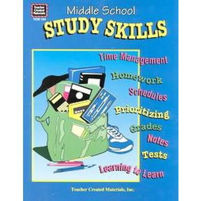 Middle School Study Skills (Workbook) (Paperback)