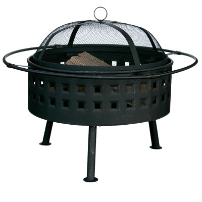 Square Cut-out Design Fire Pit