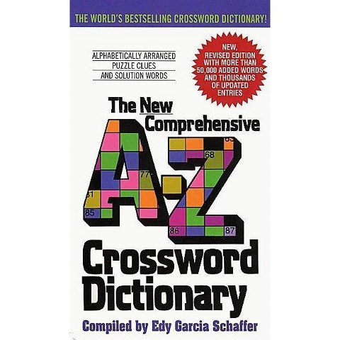 The New Comprehensive A-Z Crossword Dictionary (Revised) (Paperback)