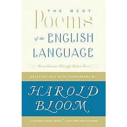 The Best Poems of the English Language (Reprint) (Paperback)
