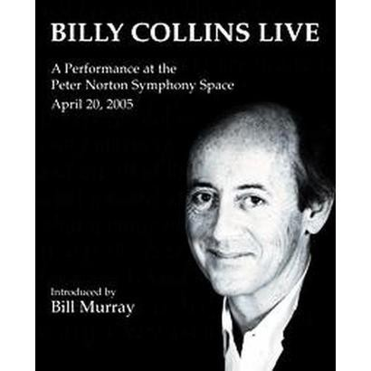 Billy Collins Live (Unabridged) (Compact Disc)