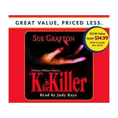 K Is for Killer (Abridged) (Compact Disc)