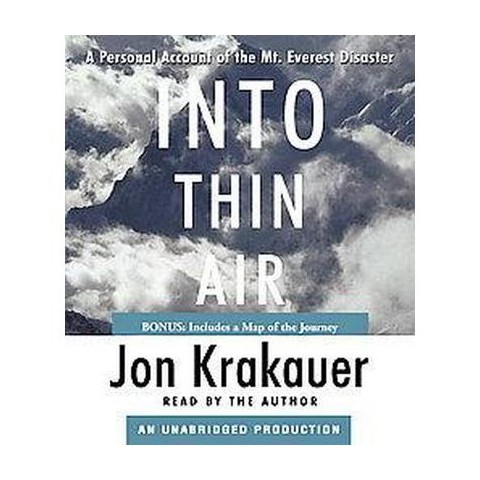 Into Thin Air (Unabridged) (Compact Disc)
