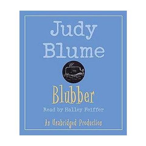 Blubber (Unabridged) (Compact Disc)