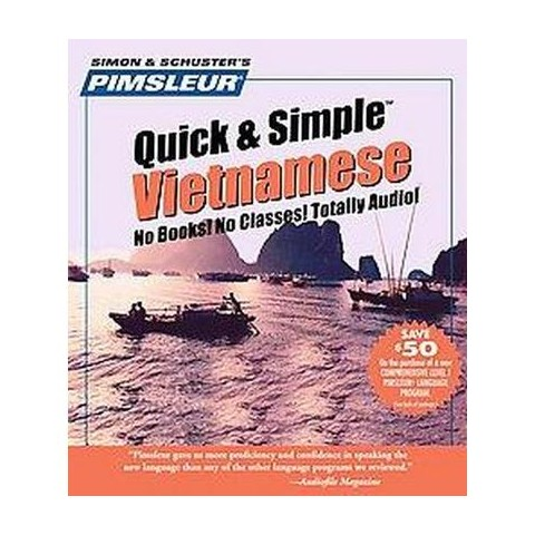 Pimsleur Quick & Simple Vietnamese ( Pimsleur) (Compact Disc)
