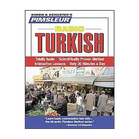 Pimsleur Basic Turkish (Unabridged) (Compact Disc)