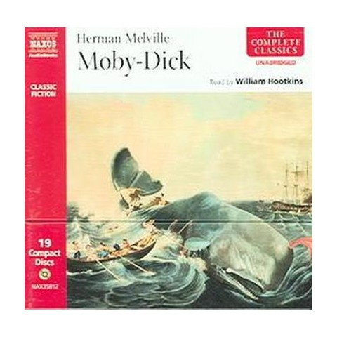 Moby Dick (Unabridged) (Compact Disc)