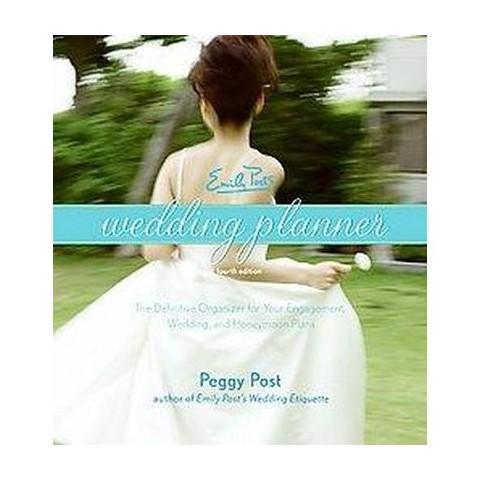 Emily Post's Wedding Planner (Hardcover)