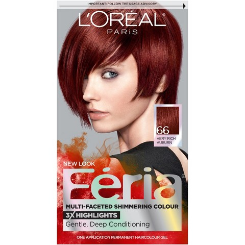 L'Oreal Feria Multi-Faceted Shimmering Permanent Color