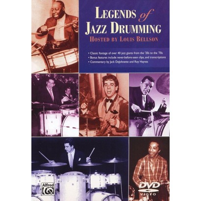 Legends of Jazz Drumming, Vol. 1 and 2
