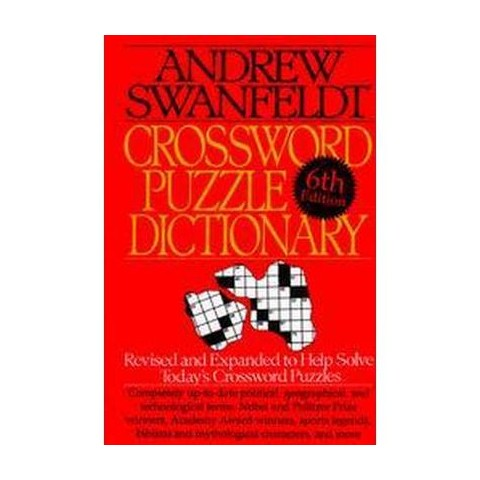 Crossword Puzzle Dictionary (Hardcover)
