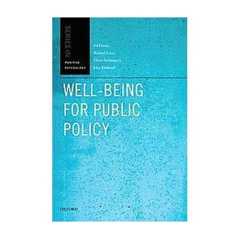 Well-Being for Public Policy (Hardcover)