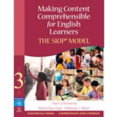 Making Content Comprehensible for English Learners (Mixed media product)