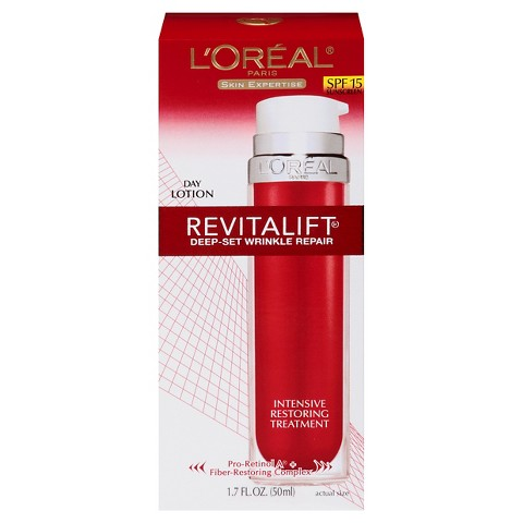 L'Oreal® Paris Advanced Revitalift Deep-Set Wrinkle Repair with SPF 15 - 1.7 oz