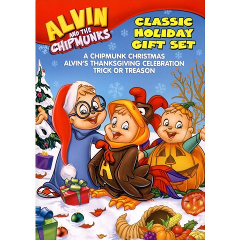 Alvin and the Chipmunks: Holiday Gift Set (3 Discs)