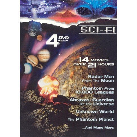 Sci-Fi Classics (4 Discs) (Dual-layered DVD, Restored / Remastered)