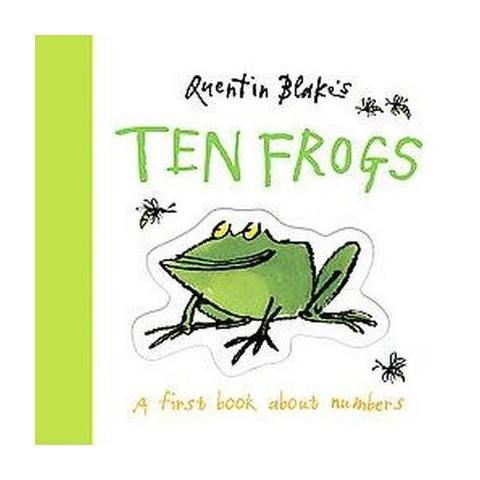Quentin Blake's Ten Frogs (Board)