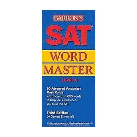 SAT Wordmaster, Level II (Revised) (Cards)