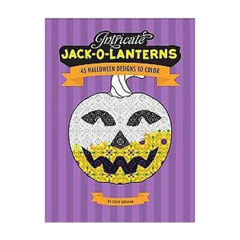 Intricate Jack-O-Lanterns (Paperback)