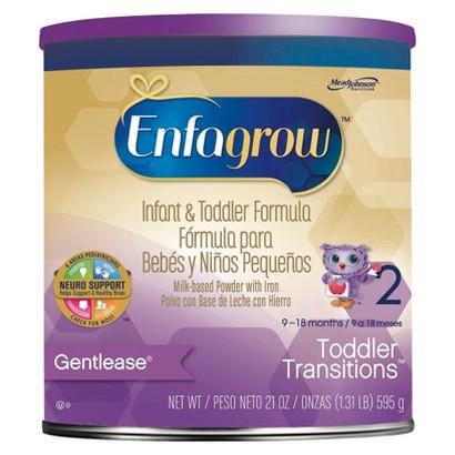 Enfagrow Toddler Transitions Gentlease Powder Formula - 21 oz. (4 Pack)
