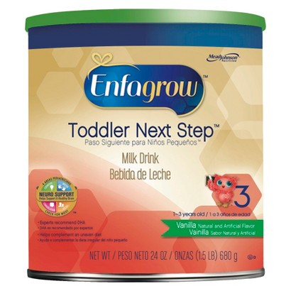 Enfamil Enfagrow Older Toddler Vanilla Milk Drink Powder - 24 oz. (4 Pack)