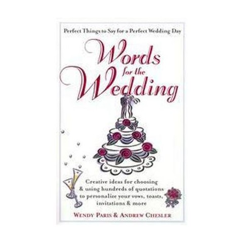 Words for the Wedding (Paperback)
