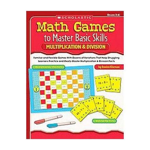 Math Games to Master Basic Skills (Paperback)