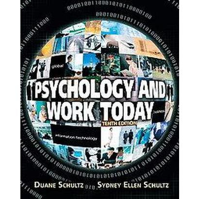 Psychology and Work Today (Hardcover)
