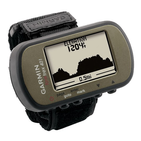 Garmin Foretrex 401 Waterproof Hands-Free GPS Navigator with Compass