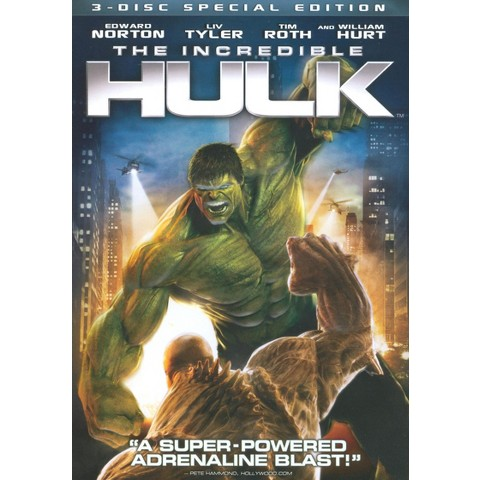 The Incredible Hulk [WS] [Special Edition] [3 Discs] [Includes Digital Copy]
